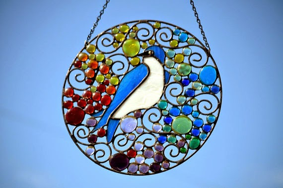 Tree Swallow Suncatcher