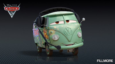 Fillmore - Cars 2 Movie