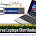 Laptop Distribution Schedule November 2016 Latest