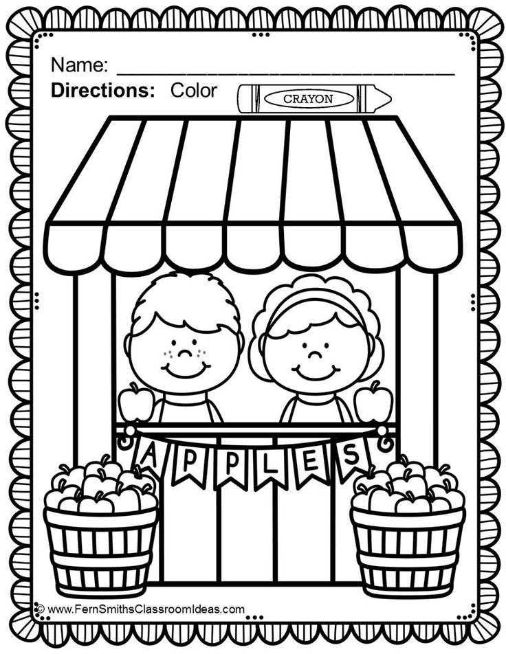 Seasonal Color For Fun Printables Freebies Fern Smith39s