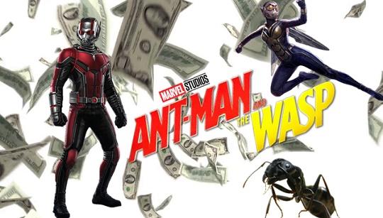 Resultado de imagem para marvel616 bilheteria homem-formiga e a vespa