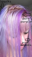 hair dye silver purple pink blond highlights bleach protein trends
