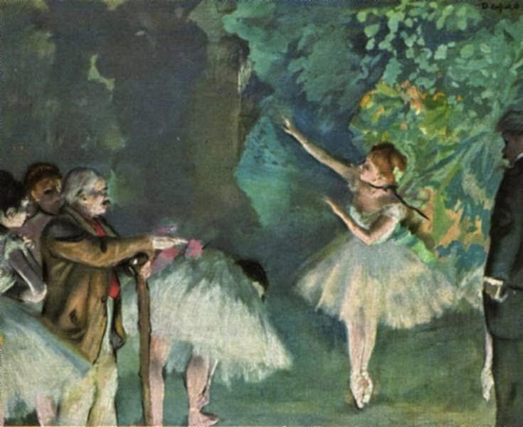 Ensaio de Balé - Edgar Degas e suas principais pinturas ~ O Pintor de Bailarinas
