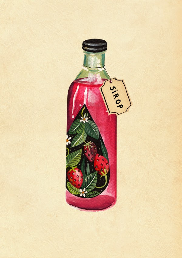 Packaging - Watercolour art and illustrations by Aitch