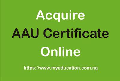 Request Ambrose Alli University Certificate Online