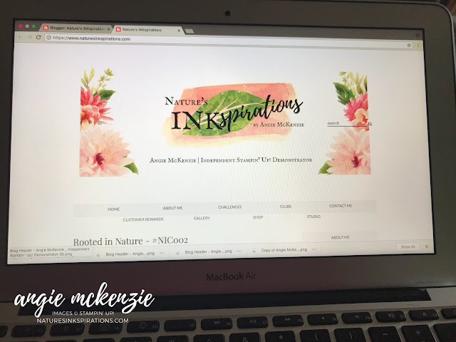 Blog refresh design | Nature's INKspirations by Angie McKenzie | naturesinkspirations.com