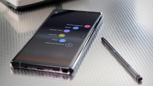 Cara Screenshot di Samsung Galaxy Note 9
