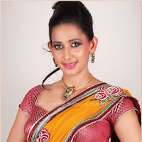 Sanjana singh latest hot in saree