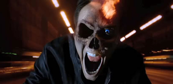 CIA☆こちら映画中央情報局です: Ghost Rider : 助走の段階で転倒し ...
