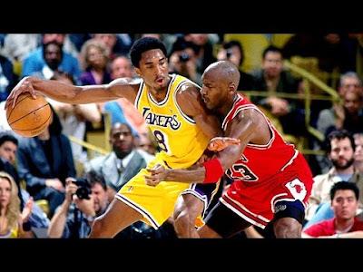 Kobe Bryant against Michael Jordan