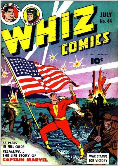 WHIZ Comics 44 Page 1