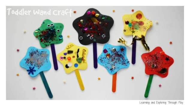 Toddler Wand Craft | Rainy Day Activities | 32 Fun Things For You And Your Kids To Do Indoors