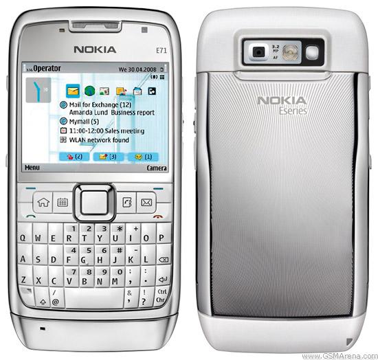 تحميل برامج والعاب نوكيا Nokia E71 من خلال الموقع الرسمي لهاتف نوكيا Nokia E71 برابط مباشر.