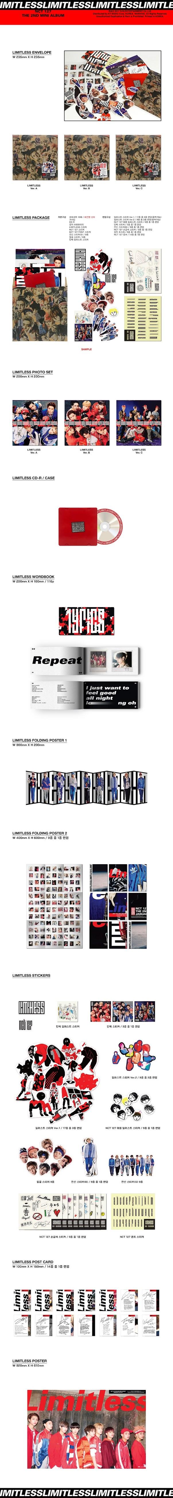 NCT 127 Mini Album Vol  2 - NCT #127 Limitless : Valoa Records