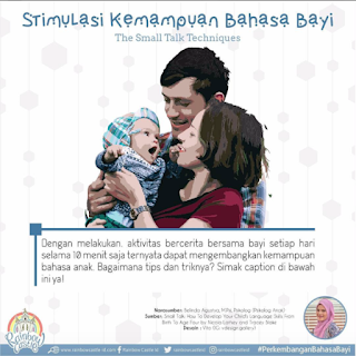 Stimulasi Bahasa Bayi : Small Talk Techniques