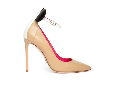 Oscar Tiye Spring Summer 2016 Minnie Pump Color Block