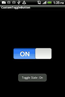 Android toggle button
