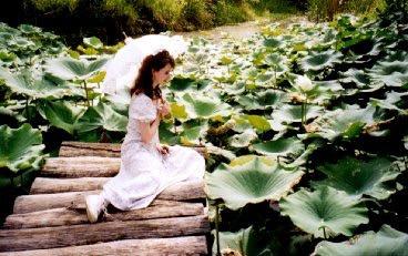 Cecilia alla Tagari Farm PDC 1998 Foto: Geoff Lawton