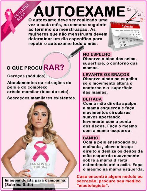 Prevenção contra o câncer de mama * Outubro rosa. Cabelos e Estilo