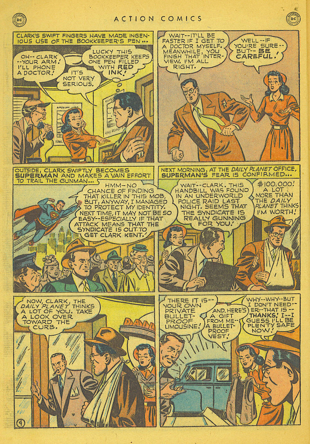 Action Comics (1938) 153 Page 4