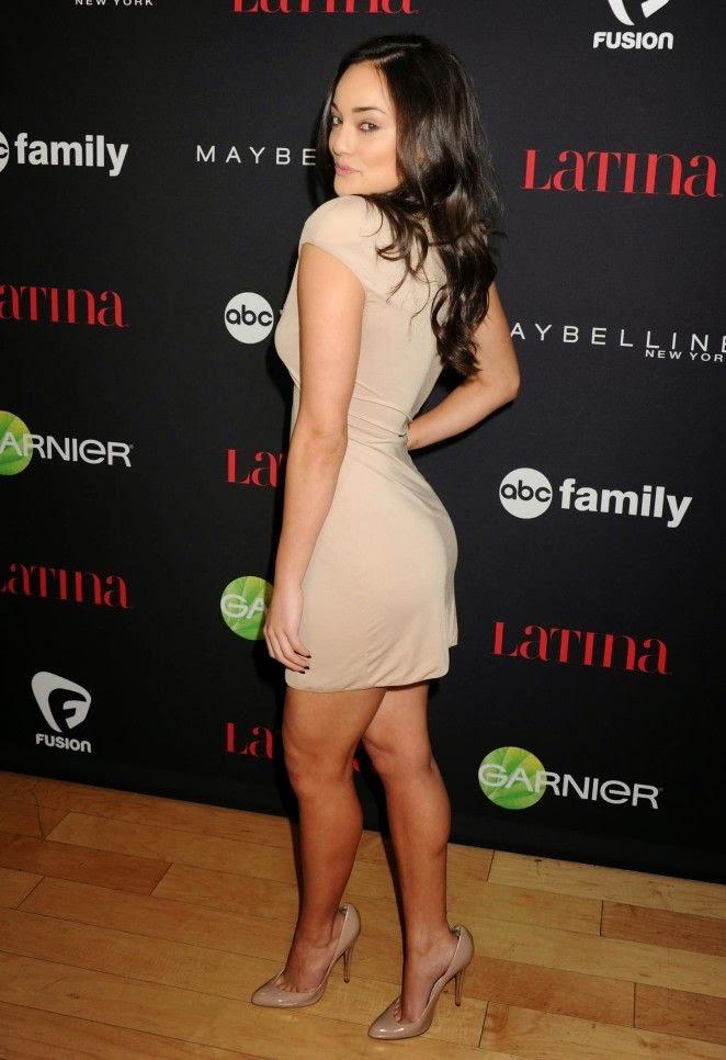 Alexandra Rodriguez S Cream Dress On The Latina Magazine