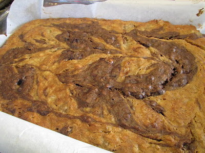 Gluten-Free Banana Chocolate Swirl Bars