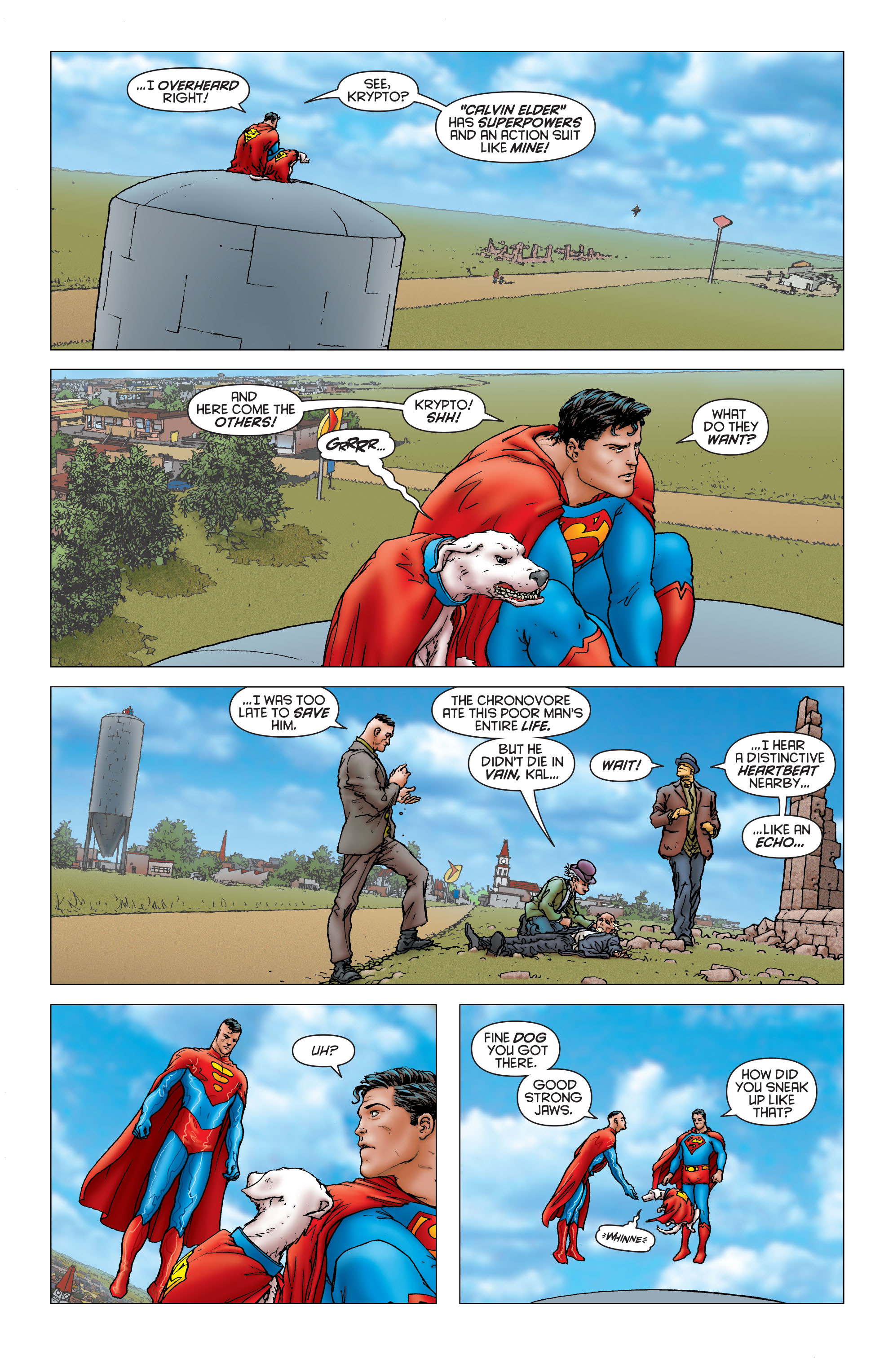 Read online All Star Superman comic -  Issue #6 - 11