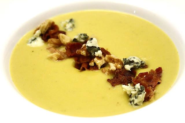 BBB soup = butternut, bacon & blue cheese