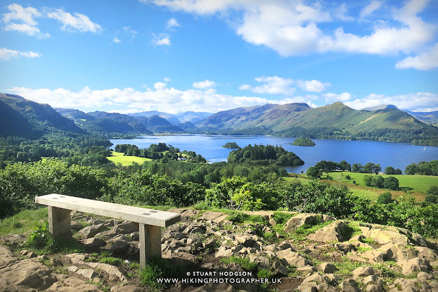 Castlehead viewpoint Derwent Water walk from keswick