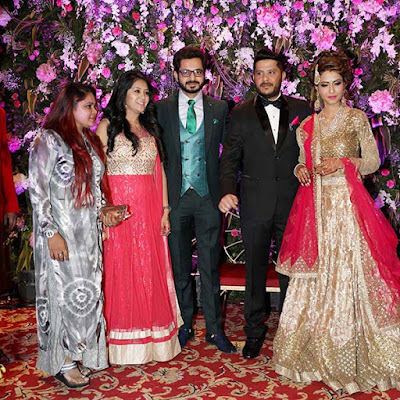 Dimple-jhangiani-wedding-reception