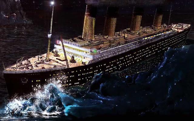 Tragedi Tenggelamnya Kapal Titanic