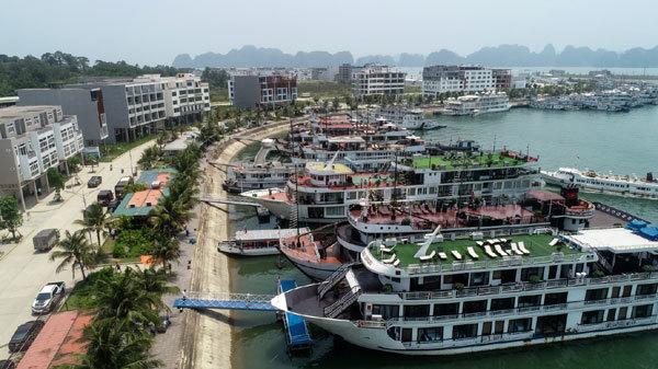 Phối cảnh dự án Tuần Châu Marina với vị trí đắc địa.