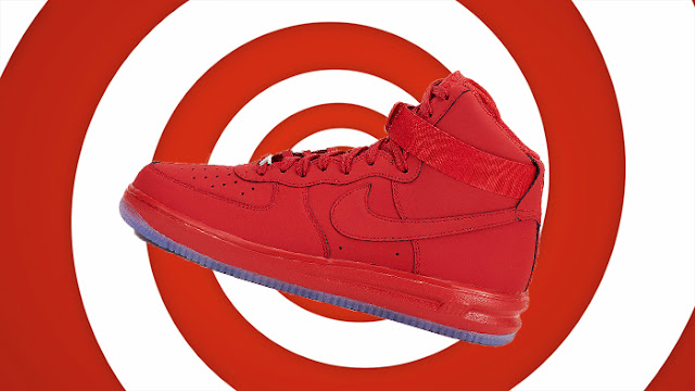 sneaker trends red nike lunair force 1hi 14 university