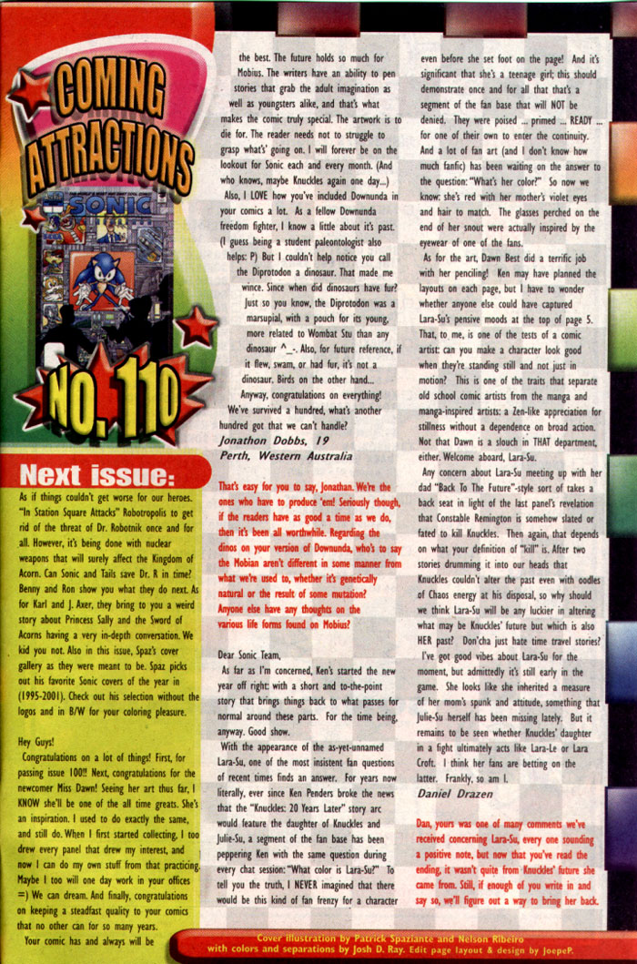 Read online Sonic The Hedgehog comic -  Issue #109 - 29