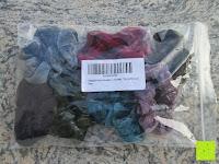 Erfahrungsbericht: Haargummi aus Velveteen, gemischte Farben, 25mm breit, 7 Stücke/Packung
