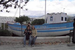 """Barco de Chanquete o """"La Dorada""""."""