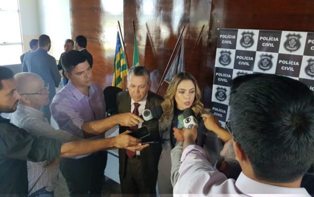 Caso do assassinato de vigilante prisional em Anápolis é apresentado a imprensa