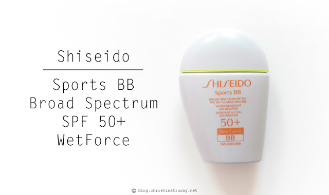Shiseido S.O.S. (Save Our Skin) Kit featuring Shiseido Sports BB Broad Spectrum SPF 50+ WetForce Review