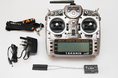 FrSky Taranis set contents