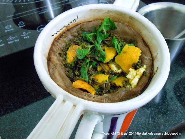 Green Tea with Tulasi & orange