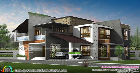 4 bedroom 4448 sq-ft ultra modern home
