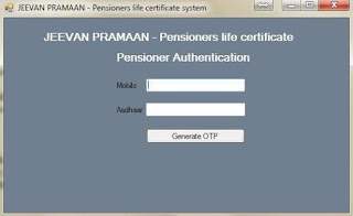 jeevan+pramaan+pensioner+authentication