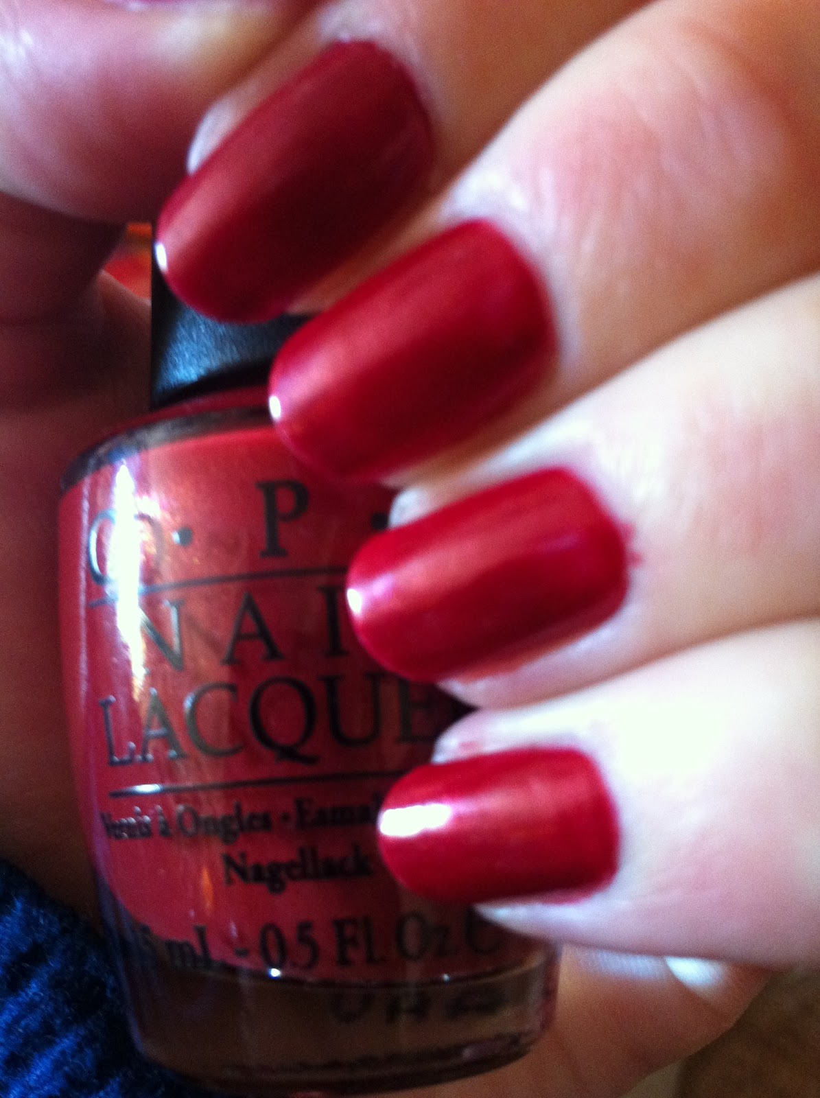 Opi Color To Diner For Dee Lovelly: NO...