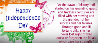 Independence Day Quotes Images for FB, Twitter cover pics