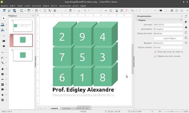 LibreOffice Draw 6.1