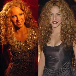Escultura de cera de Shakira