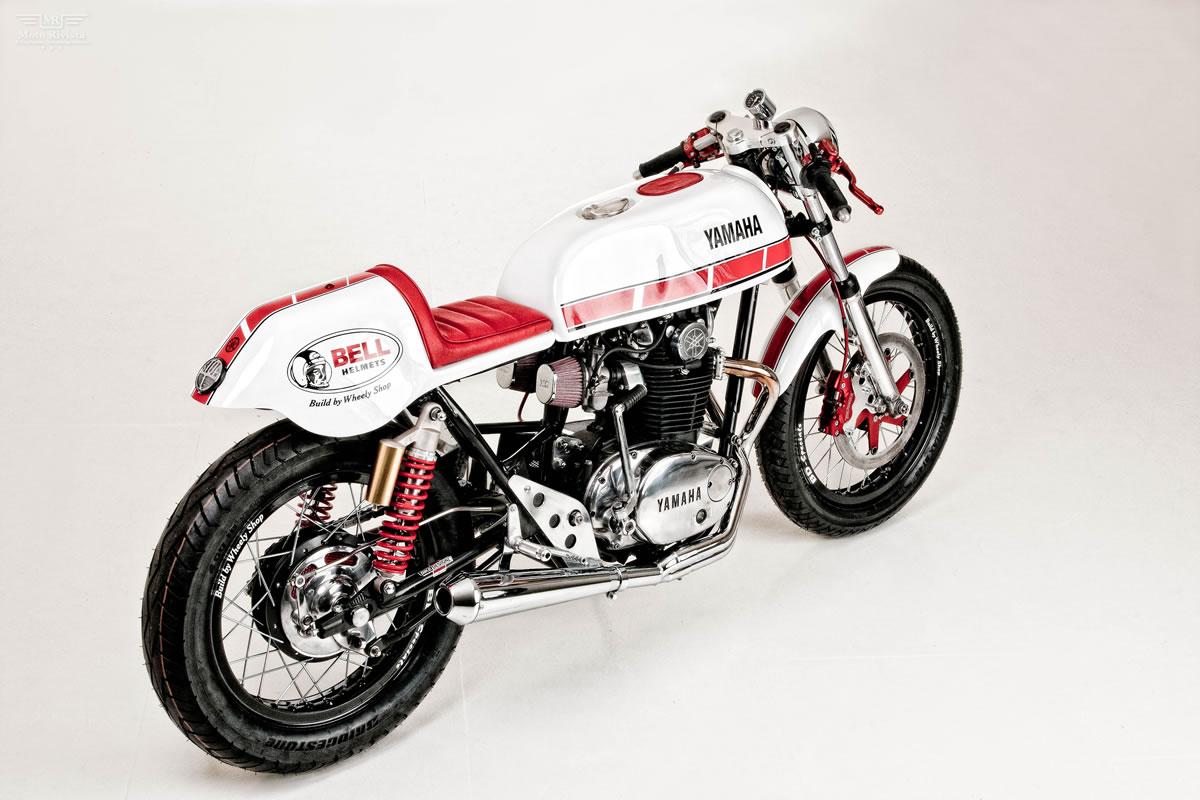 Racing Caf U00e8  Yamaha Xs 650 By Wheely Shop