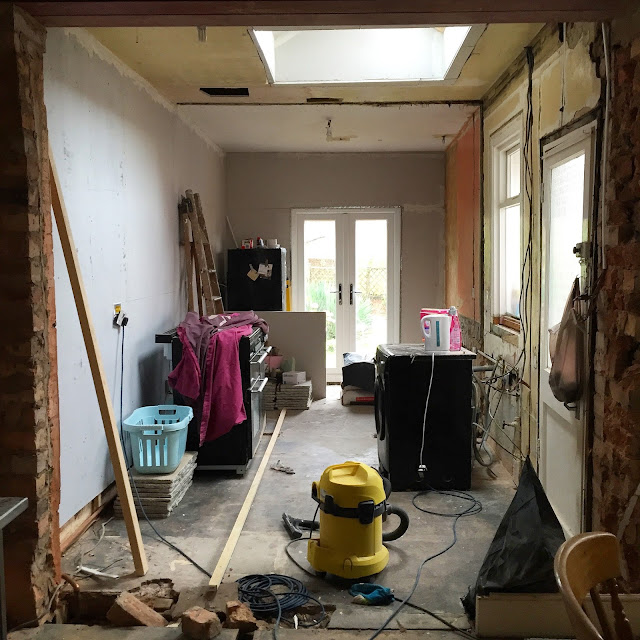 kitchen renovation with feature window DIY