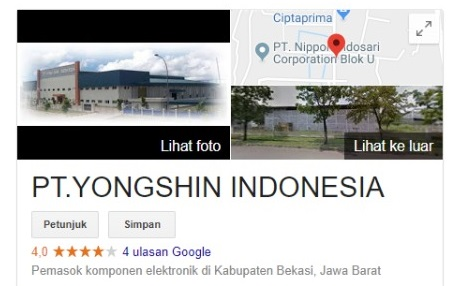 Info Loker HRD 2019 PT. Yong Shin Indonesia