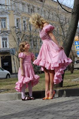 Vestidos con Olanes